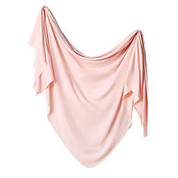 Copper Pearl™ Blush Knit Swaddle Blanket in Pink