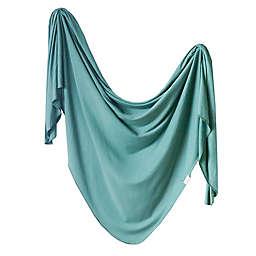 Copper Pearl™ Journey Knit Swaddle Blanket in Blue