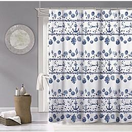 Marine 70-Inch x 72-Inch Shower Curtain