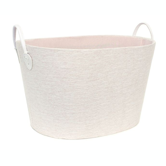 Alternate image 1 for Taylor Madison Designs® Ombre Oval Storage Bin in Pink