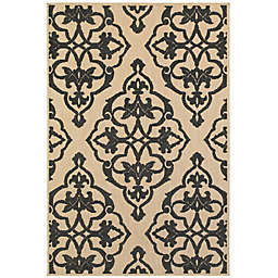 Cabana Bay Cavell Robinson Indoor/Outdoor Rug in Sand