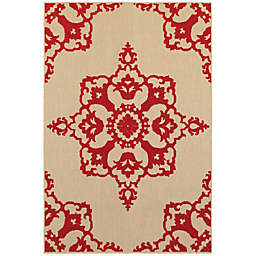 Cabana Bay Cavell Surrey Indoor/Outdoor Rug in Sand