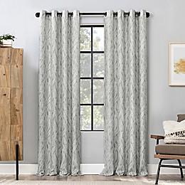 Scott Living™ Celina Organic Leaf Grommet Window Curtain Panel