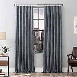 Scott Living Delton Stonewashed Cotton Semi-Sheer Ring Top Window Curtain