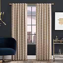 Scott Living™ Montauk Rod Pocket/Back Tab 100% Blackout Window Curtain Panel (Single)