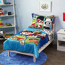 Ryan's World® 4-Piece Toddler Bedding Set