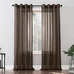 No. 918® Emily 63-Inch Grommet Window Curtain Panel in Sable (Single)