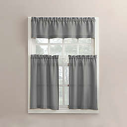 No.918® Martine Window Curtain Tier Pair and Valance