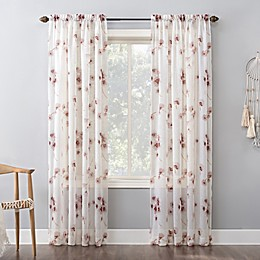 No.918® Keiko Rod Pocket Window Curtain Panel in Blush