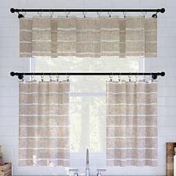 Clean Window® Twill Stripe Anti-Dust Window Curtain Collection