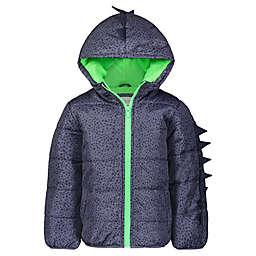 carter's® Dot Dino Coat in Blue