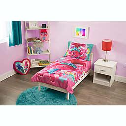 "Trolls World Tour® ""Lotta Love"" 4-Piece Toddler Bedding Set in Pink"