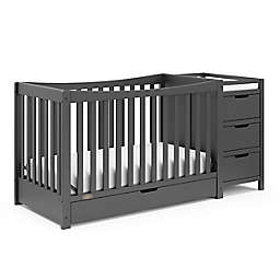 Graco Remi Crib and Changer - Gray