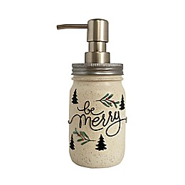 "Avanti Believe ""Be Merry"" Christmas Lotion Dispenser"