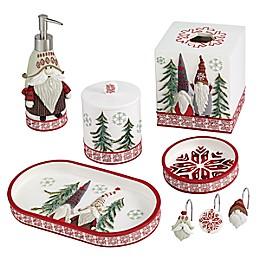 Avanti Christmas Gnomes Bath Ensemble