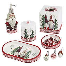 Avanti Christmas Gnomes Bath Acessory Collection