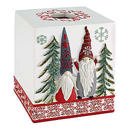 Avanti Christmas Gnomes Tissue Box Cover