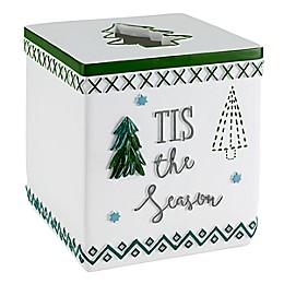 Avanti Christmas Trees Boutique Tissue Box Cover
