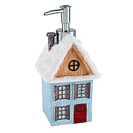 Avanti Christmas Village Lotion Dispenser