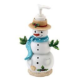 Avanti Coastal Snowman Lotion Dispenser