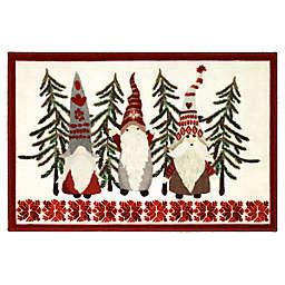 """Avanti Christmas Gnomes 20"""" x 30"""" Bath Rug"""