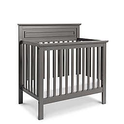 DaVinci Autumn 4-in-1 Convertible Mini Crib and Twin Bed in Slate