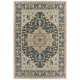 Cabana Bay Landor Gunner Indoor/Outdoor Rug in Grey