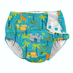 i play.® by green sprouts® Jungle Swim Diaper in Aqua