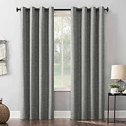 Sun Zero® 96-Inch Kline Grommet 100% Blackout Window Curtain Panel in Grey (Single)
