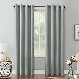 Sun Zero® Mariah 84-Inch Grommet Room Darkening Curtain Panel in Silver Grey (Single)