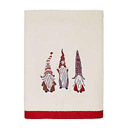 Avanti Christmas Gnomes Hand Towel in Ivory