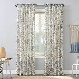 No.918® Marita Tie Top Window Curtain Panel