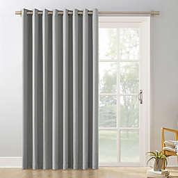Sun Zero® Mariah Extra-Wide Room Darkening Sliding Patio Door Curtain Panel (Single)
