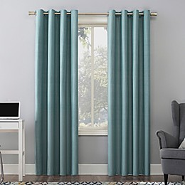 Sun Zero Duran Thermal Insulated Total Blackout Grommet Window Curtain Panel