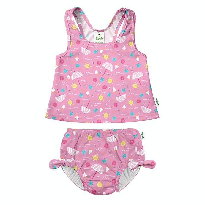 Alternate image 1 for i play.® by green sprouts® 2-Piece Tankini Swimsuit