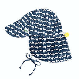 i play.® by green sprouts® Size 0-6M Flap Sun Protection Hat in Whale Geo