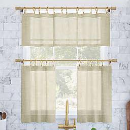 Archeo Slub Textured Window Curtain Collection