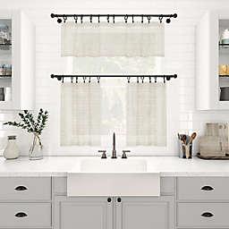 Archaeo® Slub Texture Stripe Window Curtain Collection