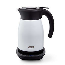 Dash® 1.7-Liter Insulated Electric Kettle with Temperature Control in White