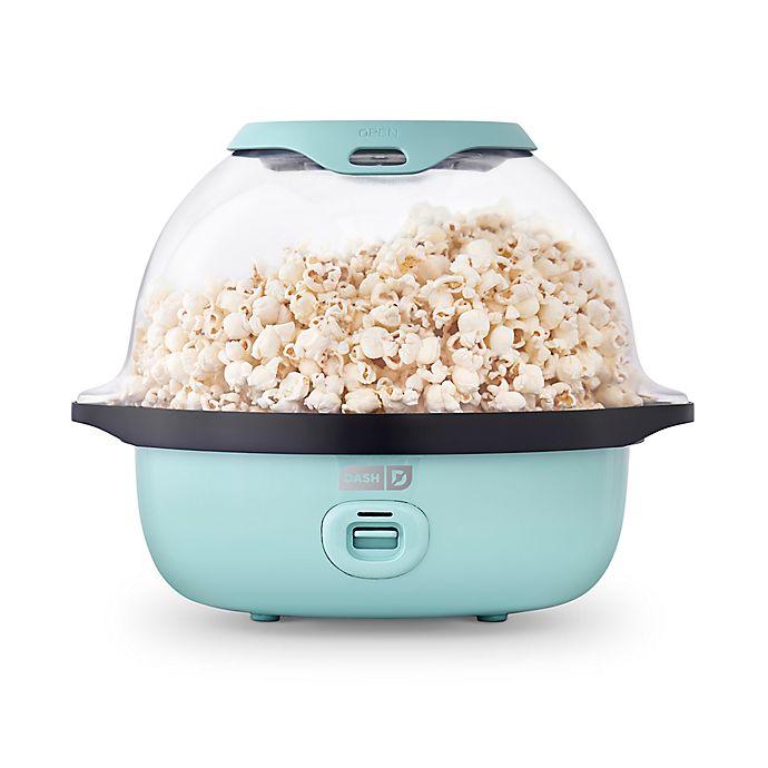 Alternate image 1 for Dash® SmartStore™ Stirring Popcorn Maker in Aqua