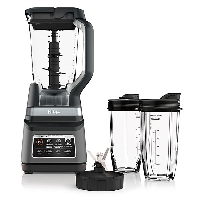 Alternate image 1 for Ninja® Pro Plus Blender DUO® with Auto-iQ® in Silver/Black