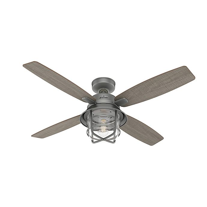 Hunter Port Royale 52 Inch Led Indoor, Ceiling Fans Outdoor With Remote
