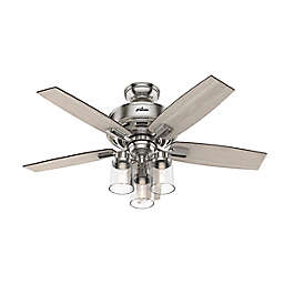 Hunter® Bennett 44-Inch 3-Light LED Ceiling Fan with Remote Control