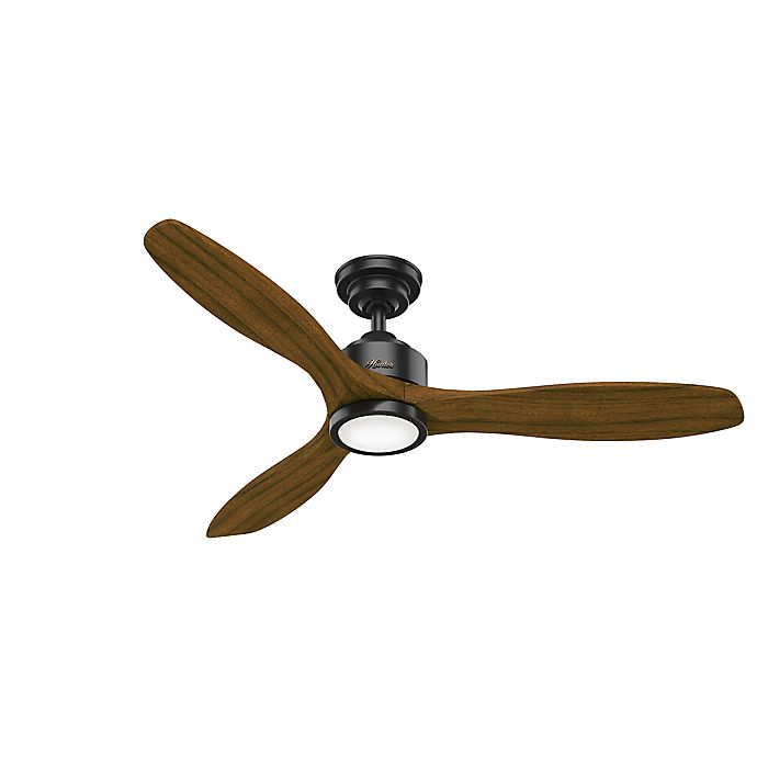 Hunter Melbourne 52 Inch Single Light Ceiling Fan With Remote Control Bed Bath Beyond