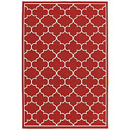 Cabana Bay Masons Hallie Indoor/Outdoor Rug in Red