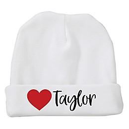 Size 0-6M First Valentine's Day Baby Hat