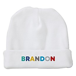 Size 0-6M Vibrant Name For Him Baby Hat