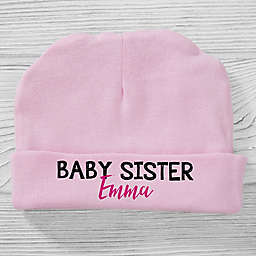 Size 0-6M Little Sister Baby Hat