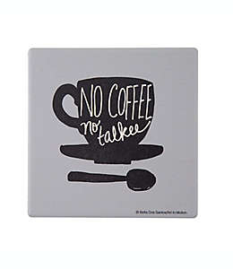"Portavasos ""No Coffee No Talkee"" Thirstystone®"