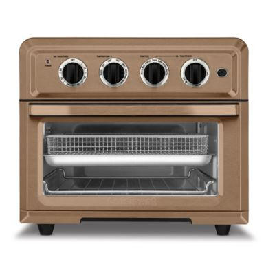 Cuisinart 1800-Watt 6-Slice Copper Stainless Toaster Oven and Air Fryer